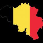 پرچم-بلژیک- نقشه بلژیک - Belgium-flag