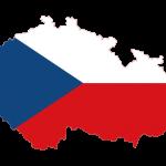 پرچم جمهوری چک- نقشه جمهوری چک - Czech-flag