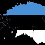 پرچم استونی- نقشه استونی - Estonia-flag