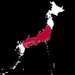 پرچم ژاپن- نقشه ژاپن - Japan-flag