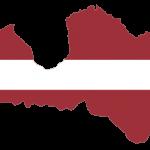 پرچم لتونی- نقشه لتونی - Latvia-flag