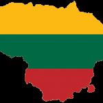 پرچم لیتوانی- نقشه لیتوانی - Lithuania-flag