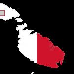 پرچم مالت- نقشه مالت -Malta-flag