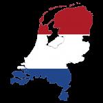 پرچم هلند- نقشه هلند -Netherlands-flag
