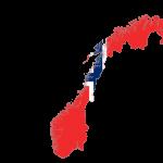 پرچم نروژ-نقشه نروژ -Norway-flag