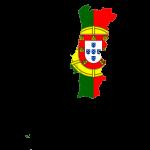 پرچم پرتغال- نقشه پرتغال - Portugal-flag