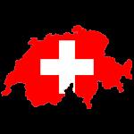 پرچم-سوئیس- نقشه سوئیس - Switzerland-flag