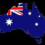 پرچم-استرالیا-نقشه استرالیا - australia-flag