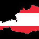 پرچم اتریش- نقشه اتریش - austria-flag