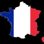 پرچم فرانسه-نقشه فرانسه - france-flag